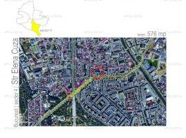 Teren in zona Sincai, Tineretului, suprafata 576mp, deschidere 29ml, utilitati.