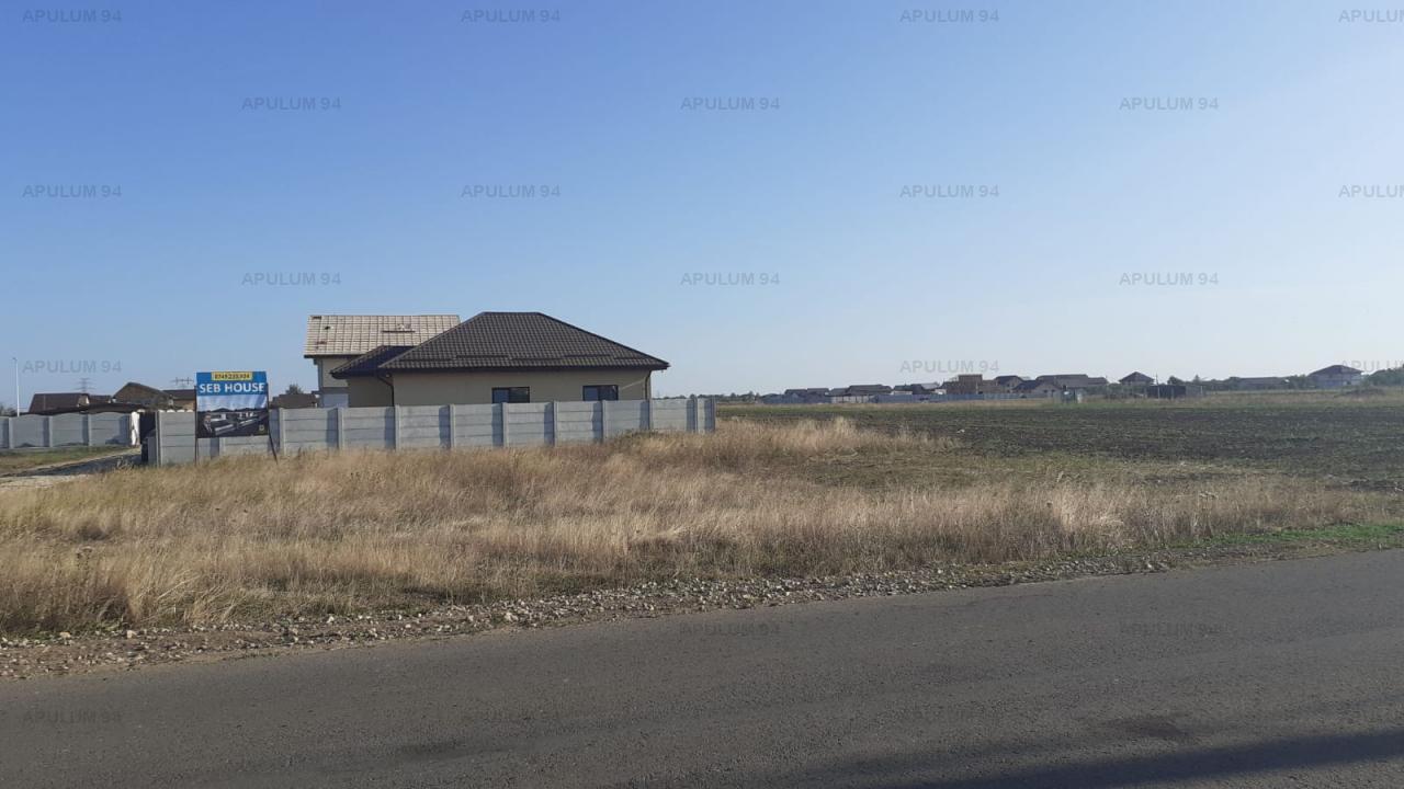 Teren in Clinceni, zona Fortului, Ortansei, 750 mp + 200mp cota din servitute, asfalt