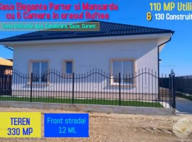 Casa Eleganta cu 6 Camere in orasul Buftea