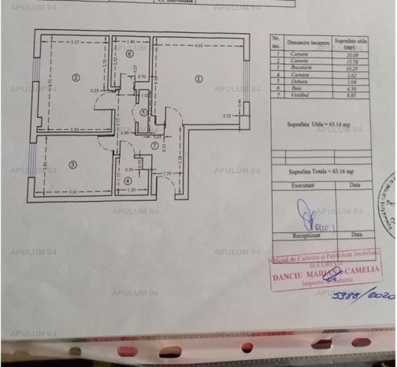 Apartament 2 camere Colentina-Bacila