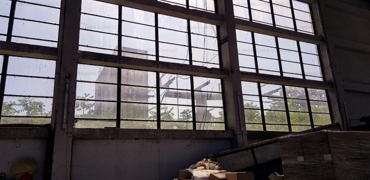 Gara Catelu Industriilor hala 600 mp