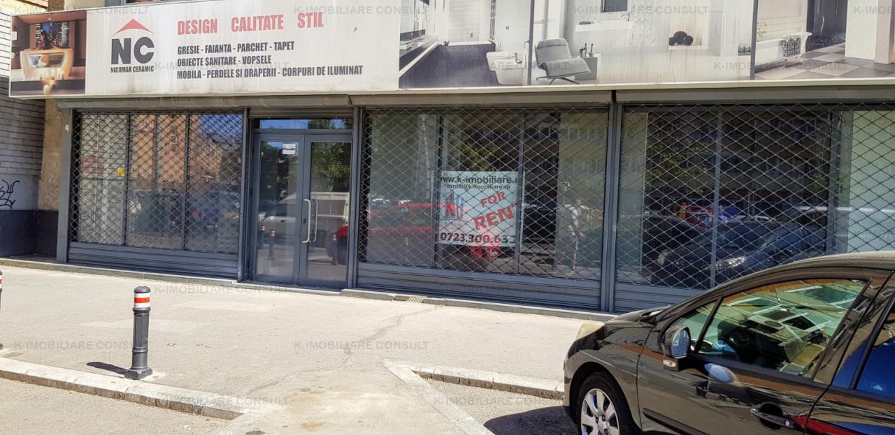 Pantelimon Morarilor spatiu comercial stradal 190 mp