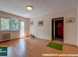 Apartament 3 camere, amenajat, luminos, bloc 4 etaje, Emil Racovita