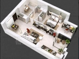 Apartament 2 camere, incalzire pardoseala, Complex 102 The Address, Comision 0%