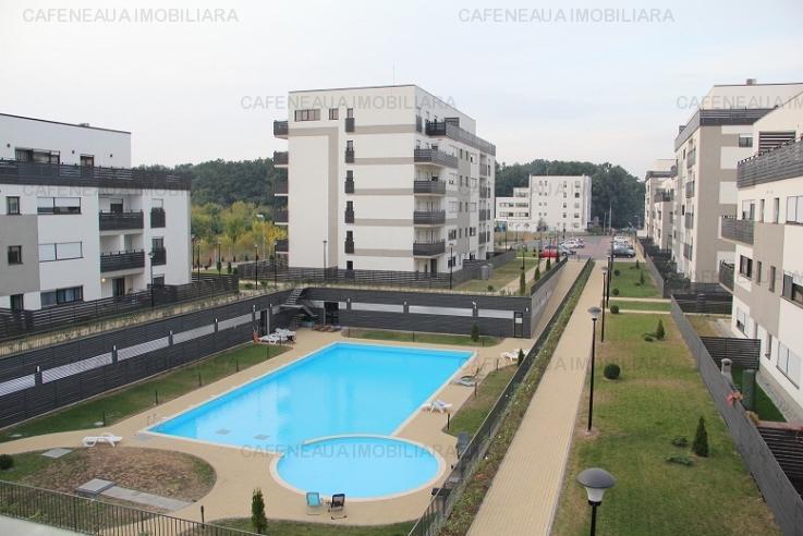 Inchiriere 2 camere Natura residence Baneasa