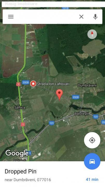 Teren zona Saftica - Balotesti