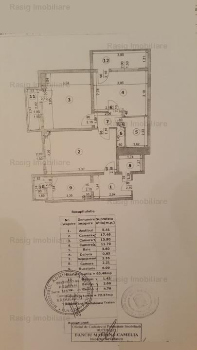 3 camere zona Dorobanti - Perla
