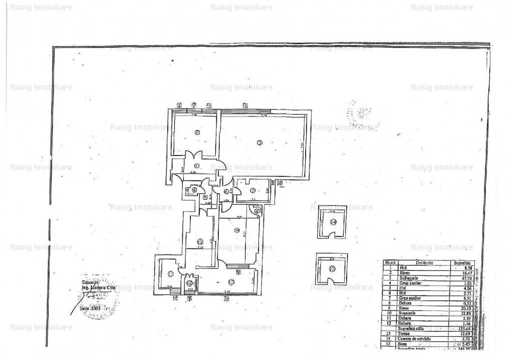 3 Camere Zona Romana - Universitate