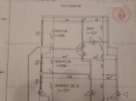 3 camere zona Ion Mihalache - P-ta 1Mai