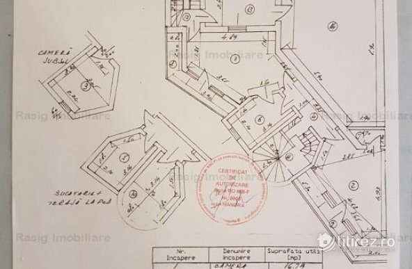2 camere zona Domenii- Casin