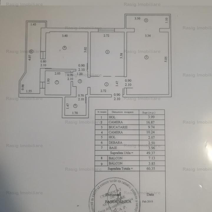 2 camere zona Turda - Parc Regina Maria