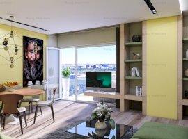 Apartament 3 camere in bloc nou Zona FLOREASCA