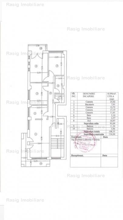 4 camere zona Turda - Regina Maria
