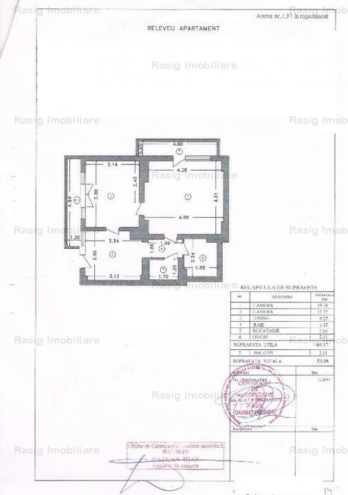 2 camere zona 1 Mai -Clucerului