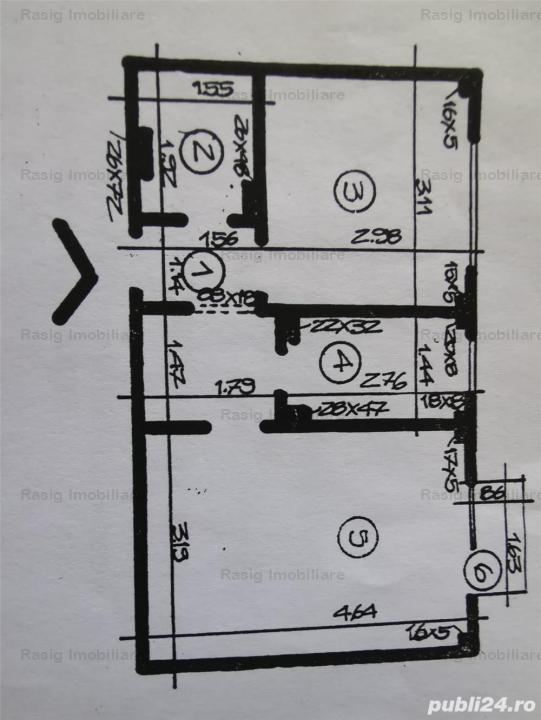 2 Camere zona Ion Mihalache -Clucerului