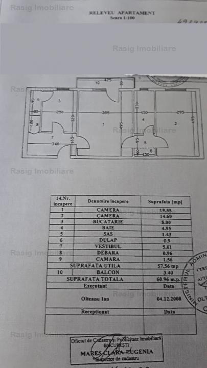 2 camere zona Aviatiei - Serbanescu