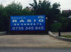 Teren de vinzare soseaua Bucuresti- tirgoviste stradal