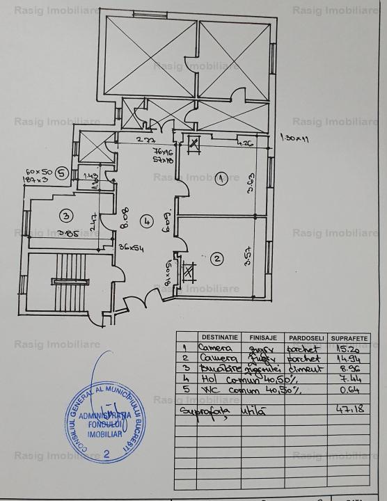 Vanzare 5 camere, ultracentral/Unirea