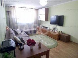 Apartament 3 camere 80 mp complet mobilat de vanzare Turnisor Sibiu