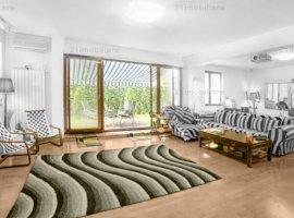 Kiseleff, apartament premium, 4 camere, 145 mp, parter, bloc nou, curte, garaj