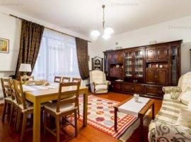 Dorobanti - Roma, apartament 5 camere, 180 mp, etaj 2/3, terasa, garaj