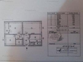 Apartament 3camere decomandat 2/4 zona romancierilor