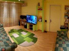 Apartament 3 camere, etaj 2/4, amenajat, mobilat complet, zona Valea Ialomitei