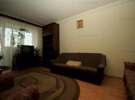 Apartament  spatios luminos decomandat , mobilat , bloc reabilitat