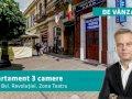 Apartament cu 3 camere în inima Aradului