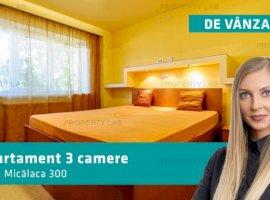 Apartament cu 3 camere, Micălaca 300
