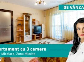 Apartament 3 camere, zona Miorita