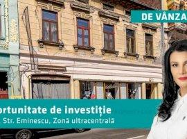 Vilă unică si multifuncțională cu 9 apartamente în zona ultracentrală