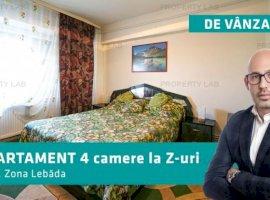 Cauți un apartament cu 4 camere? Îți ofer unul Z-uri