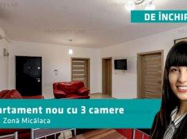 Apartament nou cu 3 camere în Micalaca.