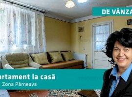 Apartament 3 camere la casă in Părneava