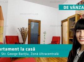 Apartament la casă, pe strada Gheorghe Barițiu.