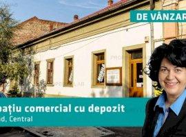 Spațiu comercial cu hală de depozitare pe Mărășești