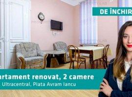 Apartament clasic cu 2 camere, renovat. Piața Avram Iancu.