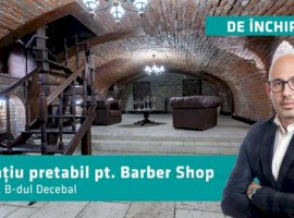 Cauți un spațiu pentru un barber shop ultracentral? Sună-mă...