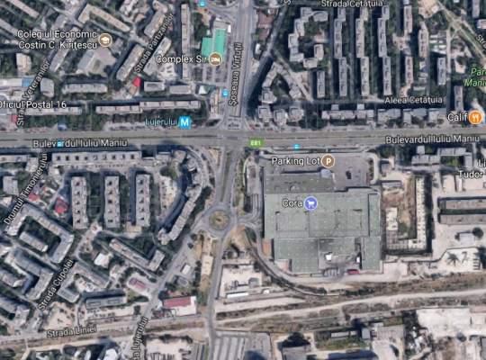 AFLA ce mare intersecţie din Bucureşti va fi sufocată de construcţia a 5.000 de noi locuinţe  !