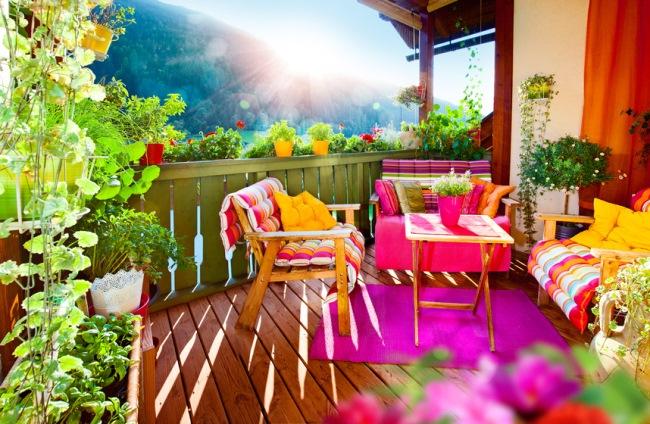 Vara asta  transformă-ți balconul într-o minigrădină !