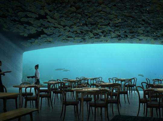 Under, primul restaurant subacvatic din Europa
