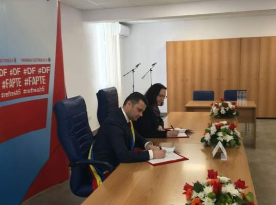 Sectorul 5 semneaza un contract istoric cu Banca Mondiala pentru finantarea celui mai mare proiect de dezvoltare urbana de dupa 1989