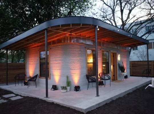 Solutie pentru construirea caselor in zonele defavorizate: Printarea 3D