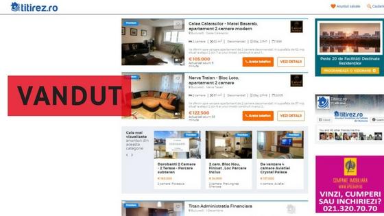 Ghid Titirez.ro: Cum arata un anunt imobiliar care VINDE?