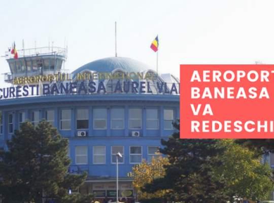 Aeroportul Baneasa va fi redeschis pentru zboruri comerciale
