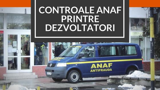 ANAF: controale antifrauda in randul dezvoltatorilor imobiliari