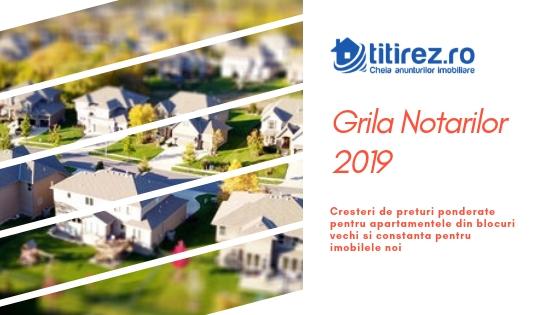 Grila Notarilor 2019 - cresteri de preturi ponderate pentru apartamentele din blocuri vechi si constanta pentru imobilele noi