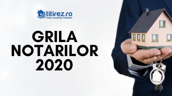 Grila Notarilor 2020 - cresteri de preturi ponderate pentru apartamentele din blocuri vechi si constanta pentru imobilele noi