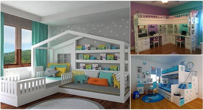 Galerie foto: Cele mai frumose dormitoare mici de copii